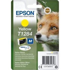 Epson nr.T1284/C13T12844012 blækpatron, gul, 175s