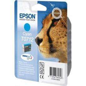 Epson C13T07124022 blå blækpatron, 280s m/alarm