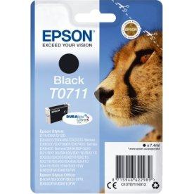Epson nr.T0711/C13T07114022 blækpatron, sort, 415s
