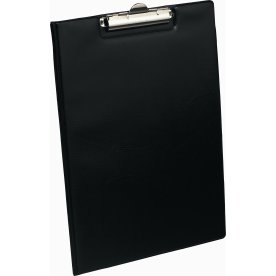 Bantex clipboard A4, med omslag, sort