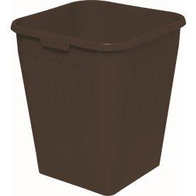 Bantex Orth papirkurv, 25 liter, sort