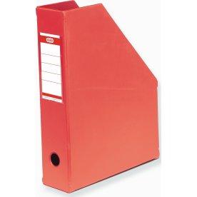 Elba tidsskriftsamler A4+, ryg 7cm, rød