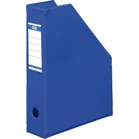 Elba tidsskriftholder A4+, ryg 7cm, koboltblå