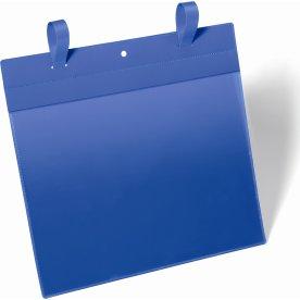 Durable Lagerlommer m/stropper, A4 tværformat