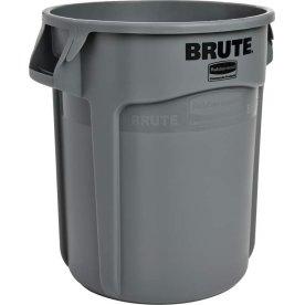BRUTE rund affaldsbeholder, 75,7 liter, Grå