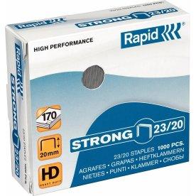 Rapid Strong 23/20 Hæfteklammer, 1000 stk.