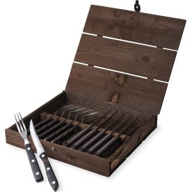 Gense Old Farmer Classic bestik 6 gafler+6 knive