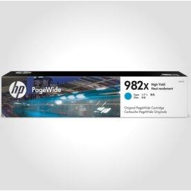 HP 982X XL PageWide blækpatron, cyan, 16.000s