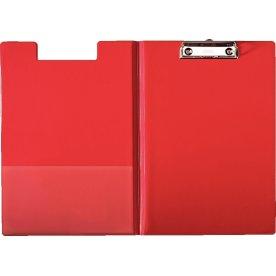 Esselte clipboard med forside A4, rød
