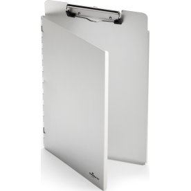 Durable Clipboard A4 dobbelt, sølv