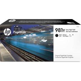 HP No981Y blækpatron, sort, 20.000s
