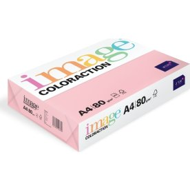 Image Coloraction A4, 80g, 500ark, lys rosa