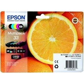 Epson 33 Claria Premium blækpatroner sampak