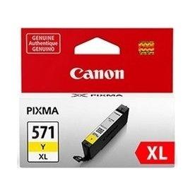 Canon CLI-571XL blæktank, blister, gul