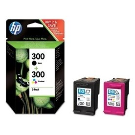 HP nr.300 blækpatroner, sampack, 200 s.