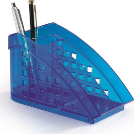 Durable Trend Borddispenser, transparent blå