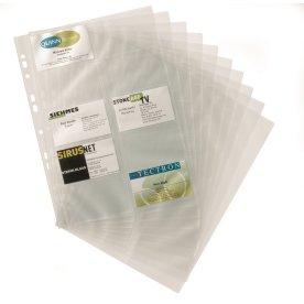 Durable Visifix visitkortlommer 20 kort, 10 lommer