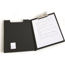 Durable Clipboard A4 dobbelt, sort