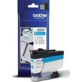 Brother LC3237C blækpatron, blå, 1500 sider