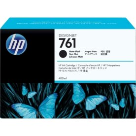HP CM991A No761 blækpatron, mat sort, 400 ml
