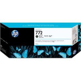 HP No772 blækpatron, mat sort, 300 ml