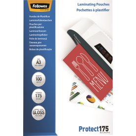 Fellowes Protect 175 mic A3 lamineringslomme gloss
