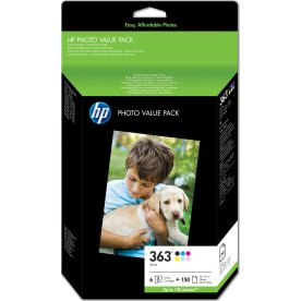 HP No363 valuepack & 10x15 Adv. pap(150)bli.