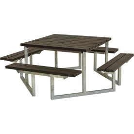 Plus Twist bord/bænkesæt, Genbrugsplast, 204 cm