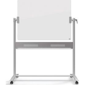Nobo Diamond mobil vendbar whiteboardtavle i glas