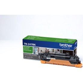 Brother TN-247BK lasertoner, sort, 3.000 sider