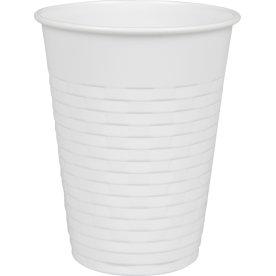 Automatbæger til drikkeautomater, 21 cl, hvid