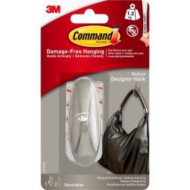 Command Designerkroge m. klæbestrips, medium
