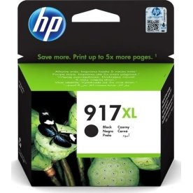 HP 917XL High Yield sort blækpatron, blister 1500s