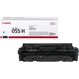 Canon 055 H lasertoner, cyan, 5.900 sider