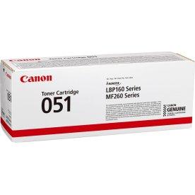 Canon CRG 051 lasertoner, sort 1.700s