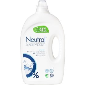Neutral White+ Flydende Vaskemiddel, 2,3 L