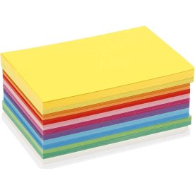 Colortime Forårskarton, A6, 180g, 120 ark, ass.