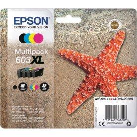 Epson 603XL blækpatroner, sampak