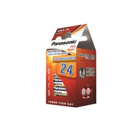 Panasonic str. AAA Pro Power Gold batteri, 24 stk