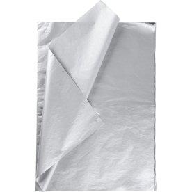 Silkepapir, 50x70 cm, 14g, 25 ark, sølv