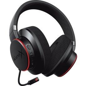 Creative BlasterX H6 USB gaming headset, sort