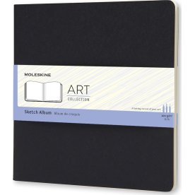 Moleskine Art Sketch Album | 19x19 cm | Sort