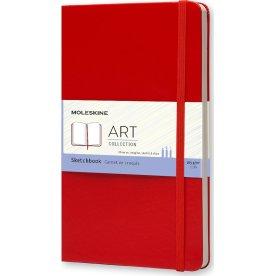 Moleskine Art Sketch Bog | L | Rød
