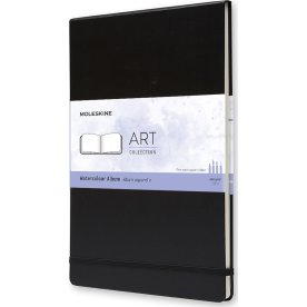 Moleskine Art Akvarel Album | A4 | Sort