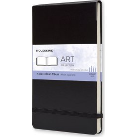 Moleskine Art Akvarel Album | L | Sort
