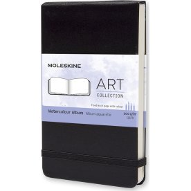 Moleskine Art Akvarel Album | Pkt. | Sort