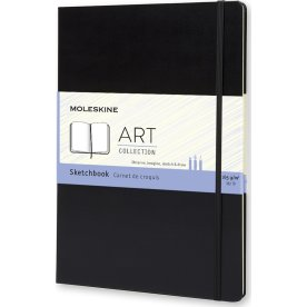 Moleskine Art Sketch Bog | A4 | Sort