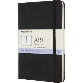 Moleskine Art Sketch Bog | M | Sort
