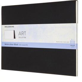 Moleskine Art Akvarel Blok | XL | Sort