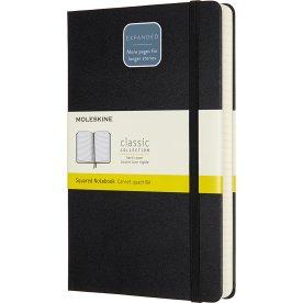 Moleskine Clas. H Notesbog | Exp. | Kvad. | Sort